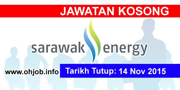 Jawatan Kerja Kosong Sarawak Energy logo www.ohjob.info november 2015