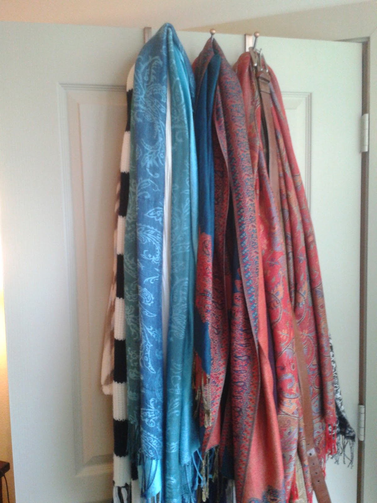 limited space organizing let s organize scarf