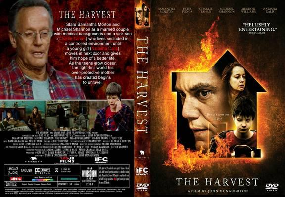 Download A Ameaça BDRip XviD Dual Áudio The Harvest 2015  Front Cover 100701