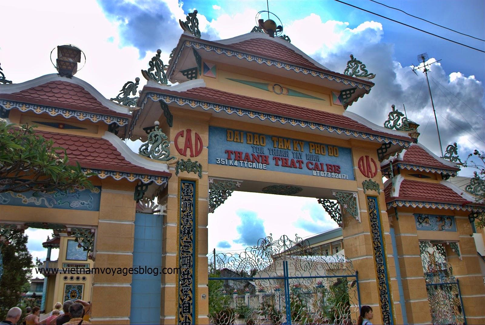Tham quan Thánh thất Cao Đài ở Cái Bè - 2014