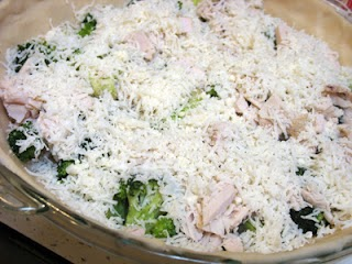 uncooked turkey quiche