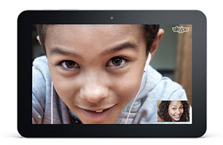 video call di tablet android