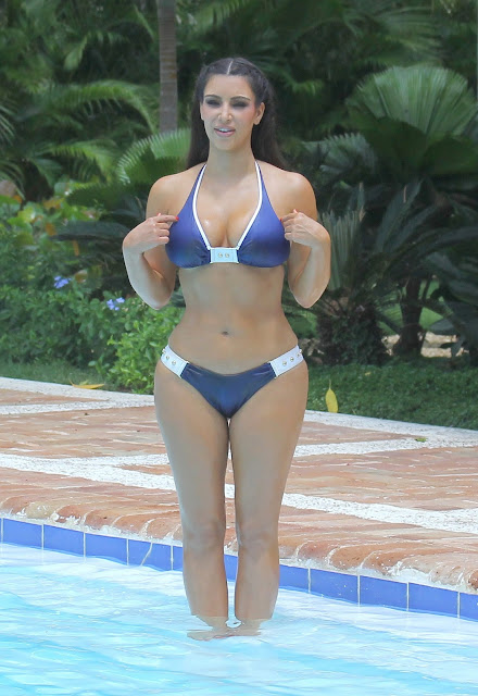 kim-kardashian Bikini