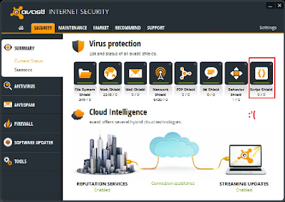 Screenshoot 2 - Avast Internet Security 8 | www.wizyuloverz.com