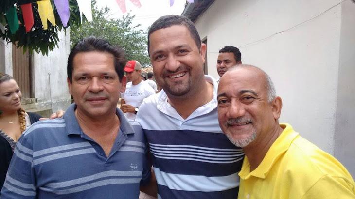 Serrinha: Edvaldo Teixeira recebe carinho especial do empresário Vardinho Serra