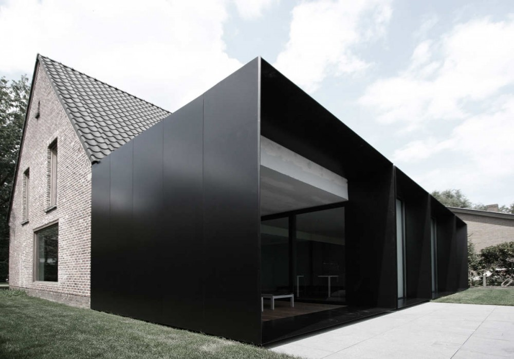 q en bleu house ds graux beyens architecten. Black Bedroom Furniture Sets. Home Design Ideas