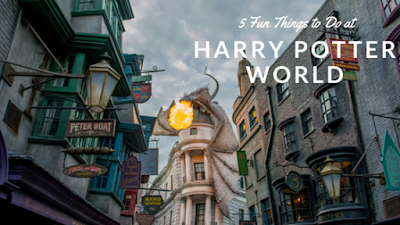fun things to do at harry potter world