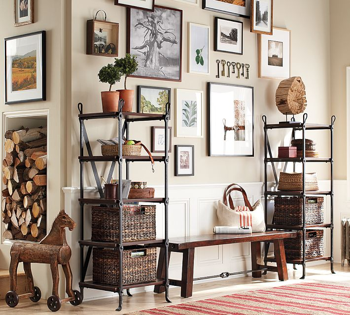 Pottery barn gallery wall inspiration for creating a gallery wall drivendecor