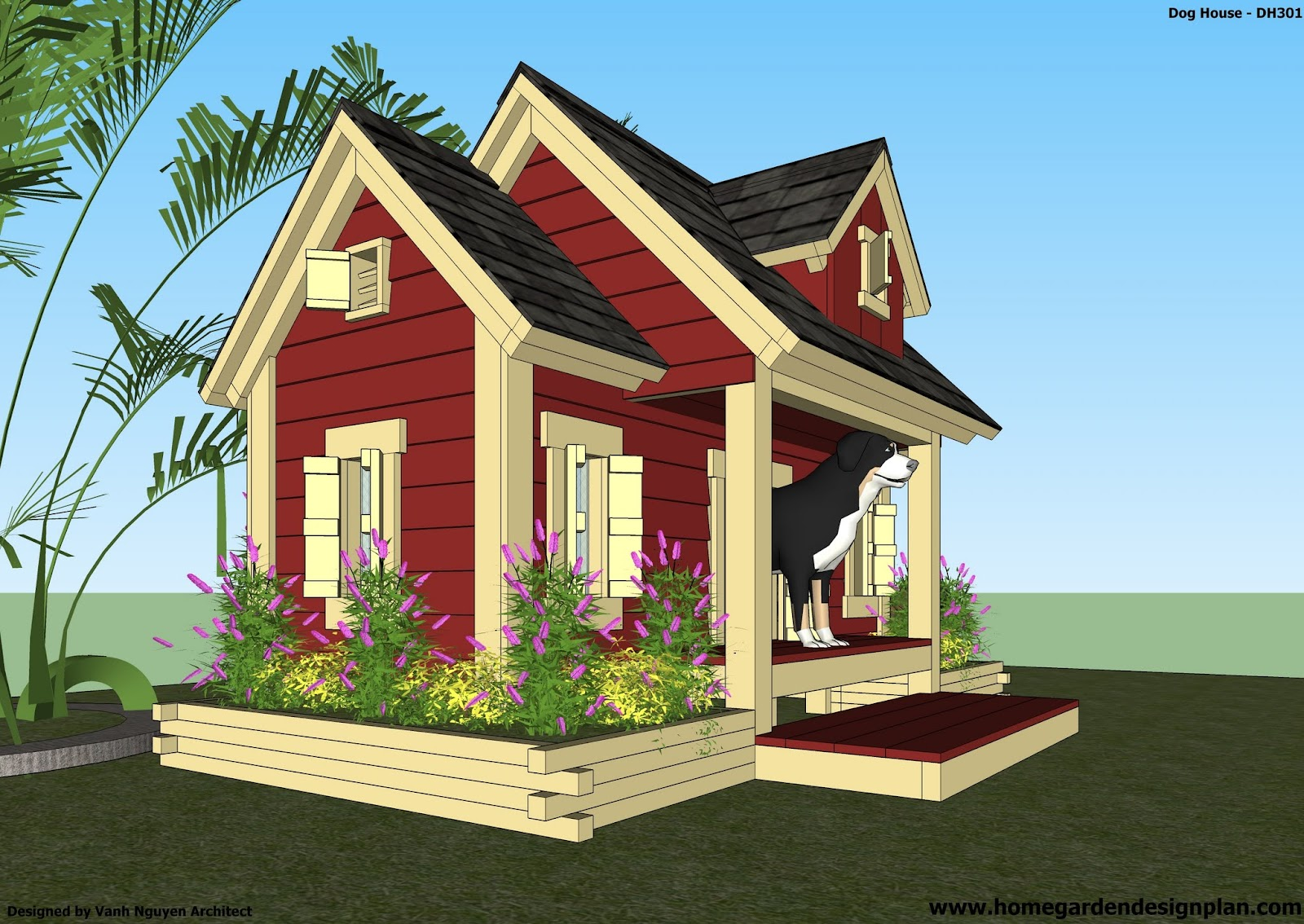 Free Dog House Plans Dog Breeds Picture