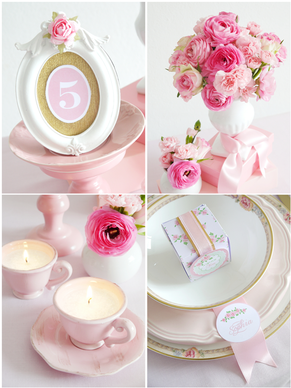 diy pink wedding ideas printables for hgtv party ideas