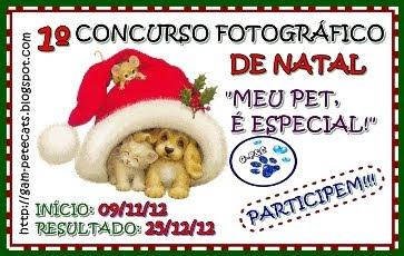 1º CONCURSO FOTOGRÁFICO DE NATAL!!!