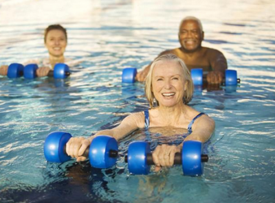 exercise for seniors 400x296 - Tips for Maintaining a Healthy Lifestyle this Summer