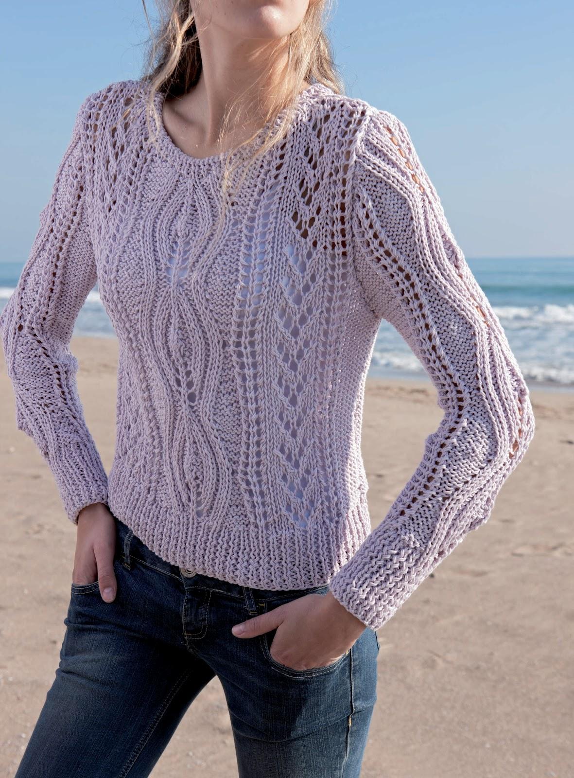 El blog de dmc cat logo de primavera verano con natura - Patrones jerseys de punto hechos a mano ...