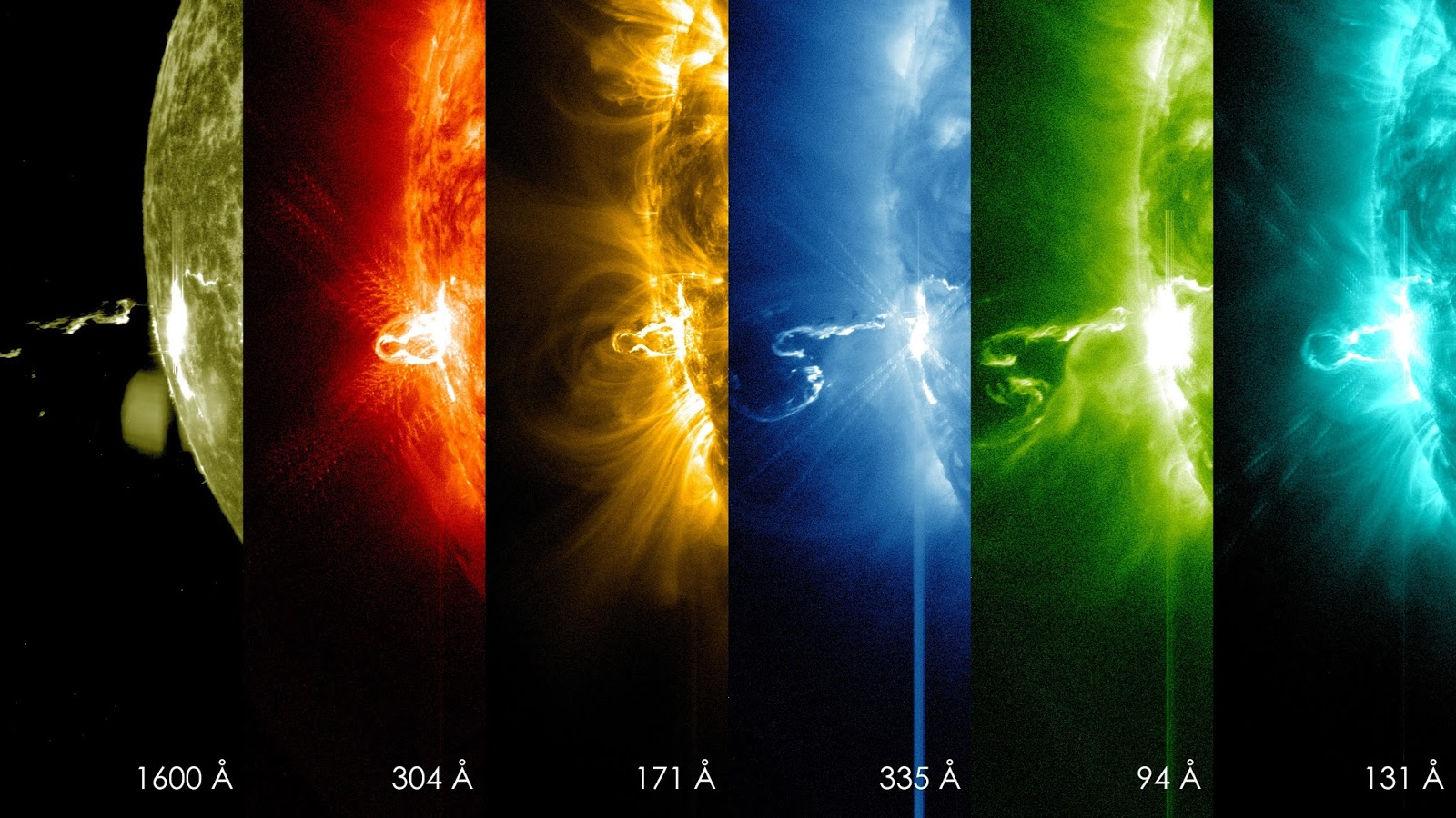 NASA's SDO Shows Images of Significant Solar Flare    The Sun emitted a significant solar flare, peaking at 7:49 p.m. EST on February 24, 2014. NASA's Solar Dynamics Observatory, which keeps a constant watch on the Sun, captured images of the event.  Solar flares are powerful bursts of radiation, appearing as giant flashes of light in the SDO images. Harmful radiation from a flare cannot pass through Earth's atmosphere to physically affect humans on the ground, however -- when intense enough -- they can disturb the atmosphere in the layer where GPS and communications signals travel.  This flare is classified as an X4.9-class flare. X-class denotes the most intense flares, while the number provides more information about its strength. An X2 is twice as intense as an X1, an X3 is three times as intense, etc.  Image Credit: SDO/NASA Explanation from: http://www.nasa.gov/content/goddard/nasas-sdo-shows-images-of-significant-solar-flare/index.html