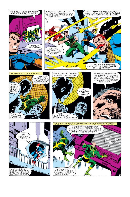 Captain America (1968) Issue #274 #190 - English 11