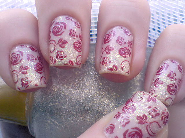 Freehand Nail Art Patterns For Women Corner Nail Art