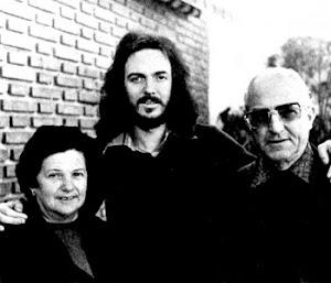 Camilo Sesto y sus padres Eliseo y Joaquina