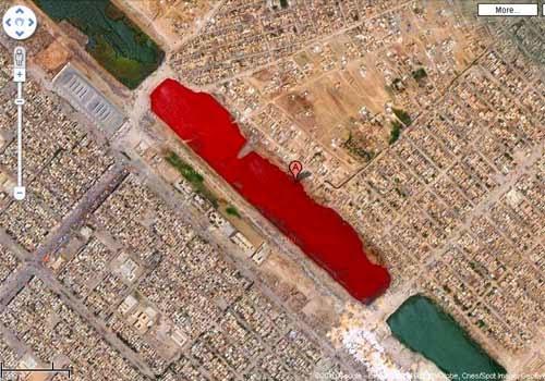 El lago de Sangre