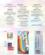 Actividades de la X Semana de la diversidad afectivo sexual de Segoentiende.