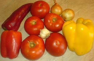 ingrediente saksuka, cum se prepara saksuka, cum se face saksuka, reteta saksuka israeliana, legume pentru saksuka, retete si preparate culinare straine,