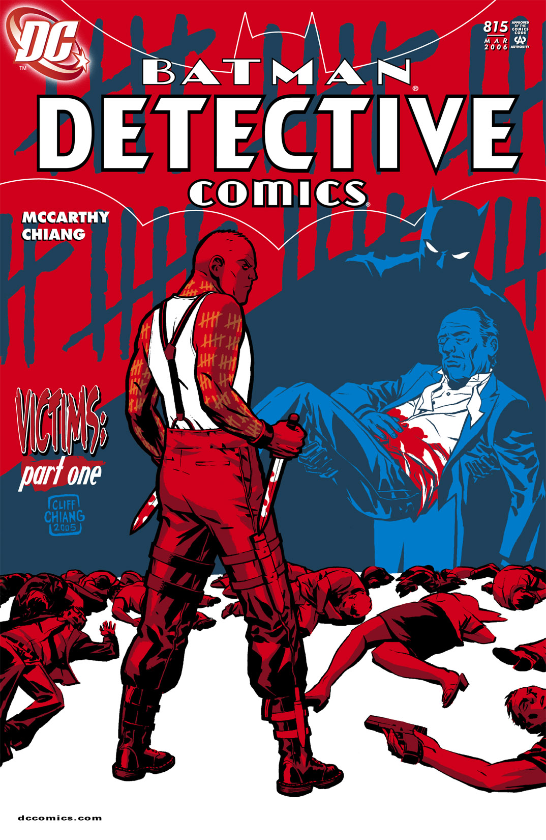 Detective Comics (1937) 815 Page 0