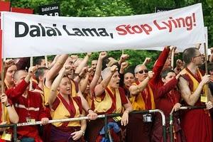 Dalai Lama, Stop Lying !