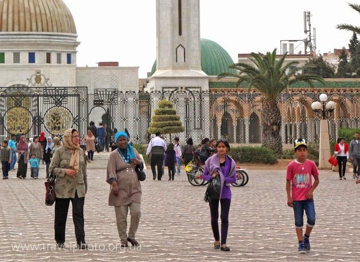 Люди Туниса, мужнины и женщины