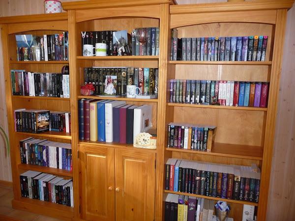 Cadeaux de Noël, photos de ma PAL et de mes bibliothèques