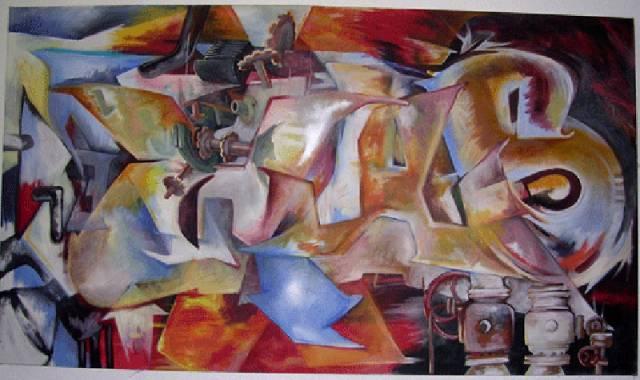 graff cubiste