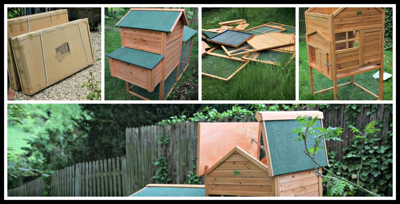 Le jardin des poussins la maison des poules - Poulailler maison des poules ...