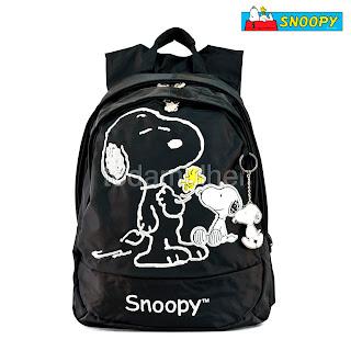 Mochilas escolares femininas do Snoopy