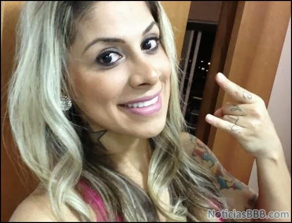 Vanessa Mesquita do BBB 2014