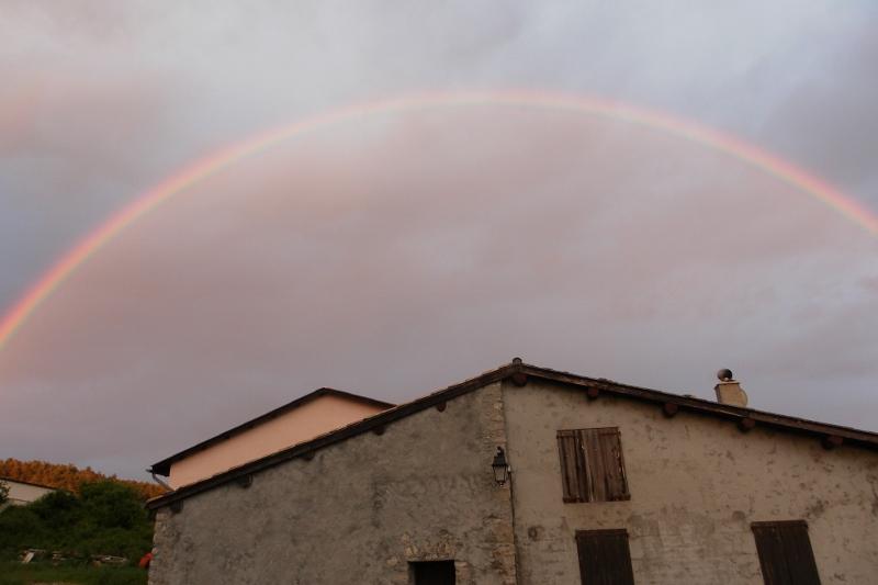 Arc en ciel à Vergons - Alpes de Haute Provence