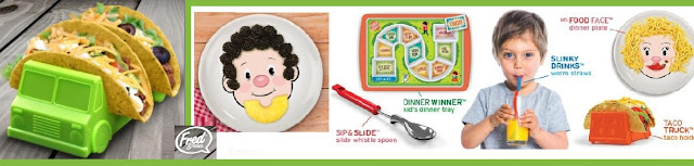 COMER ES DIVERTIDO CON PLATOS  INFANTILES FRED & FRIENDS
