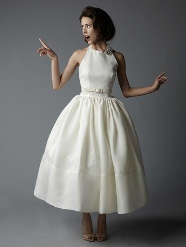 Old hollywood style vintage inspired wedding dresses for Vintage wedding dresses nyc