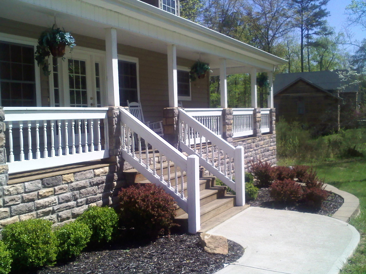 Hadley son painting maineville ohio house painting What is the best exterior paint for decks