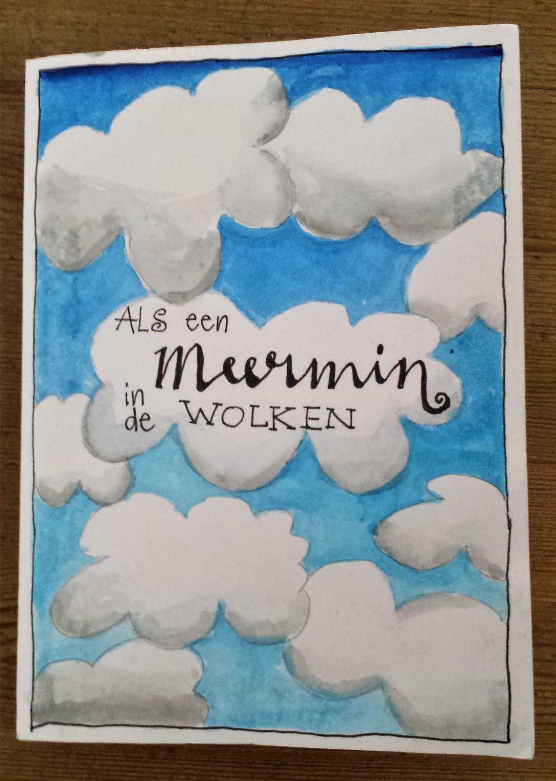 Als een meermin in de wolken