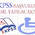 EKPSS'ye nasıl başvurulur, Başvuru şartları nelerdir?