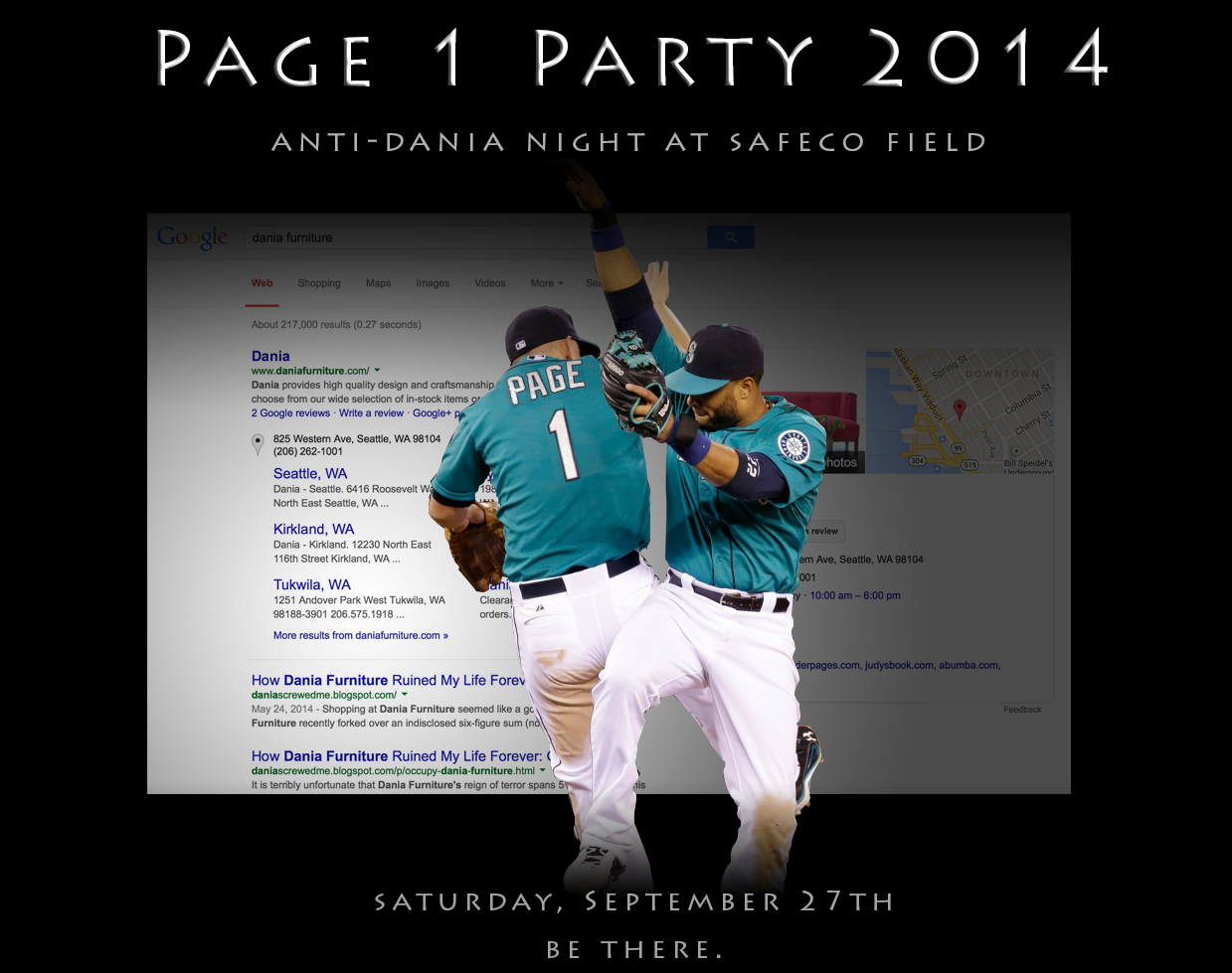 Page 1 Party 2014: Hate Me Out To The Ballgame