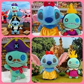 Pirate Scrump / Snow White Stitch & Queen Scrump