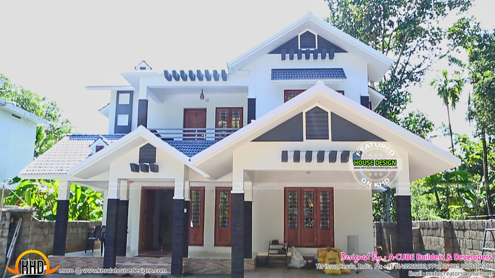 New house plans for 2016 starts here kerala home design for New home blueprints photos