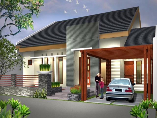 kumpulan desain rumah minimalis cantik