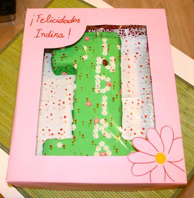 Tarta decorada primer aniversari