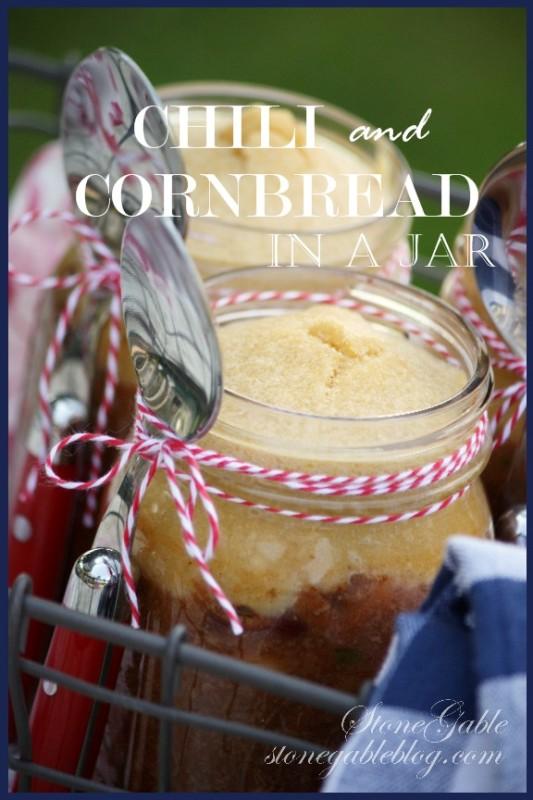 Chili and cornbread in a jar stonegable chili and cornbread in a jar forumfinder Gallery