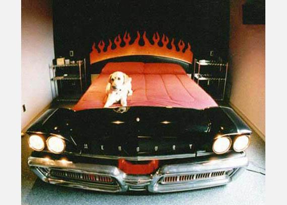 Los muebles m s agresivos y geniales que todo hombre - Cama en forma de auto ...