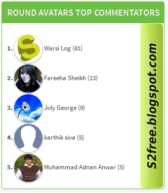 ... blog commentator we post top commentators box widget for blogger now
