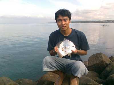 Fishing in Pengambengan Bali