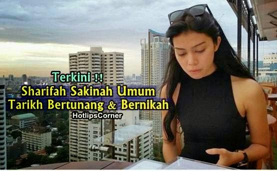 Sharifah Sakinah Sah Bakal Bertunang Dengan Pilot 25 Oktober Ini, info, terkini, hiburan, sharifah sakinah, sensasi,
