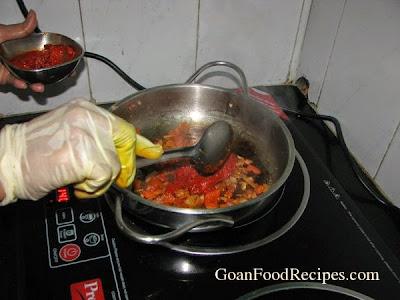 add masala to the dish