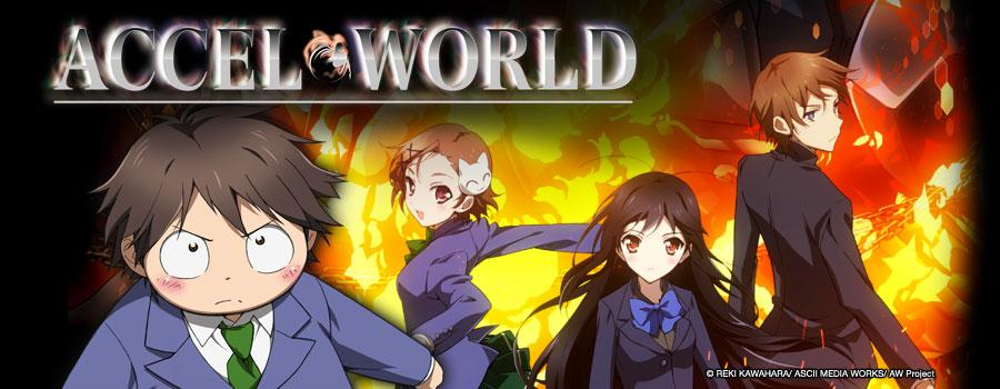 Quiapo goes manganime accel world episode 12